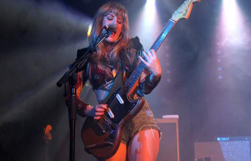 Deap Vally Custom Stagewear Design by Michelle Rose